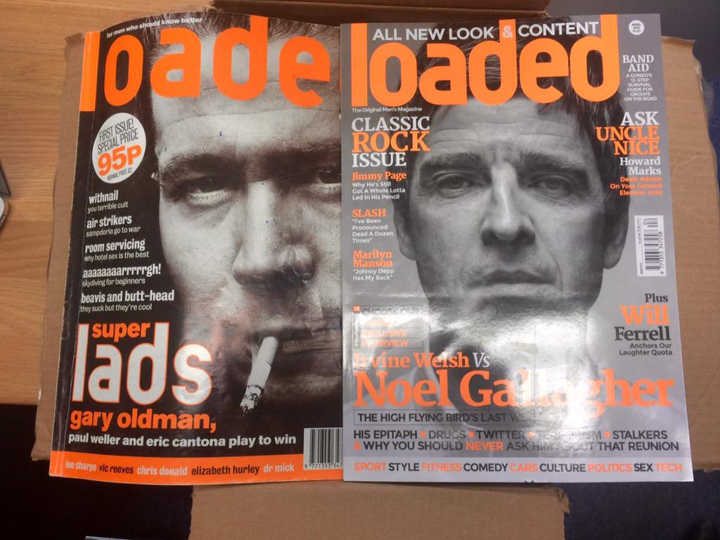 The very first and unfortunately the last issue of @loadedmag. Sad day. Loved every minute. http://t.co/rdBWfNxj0h