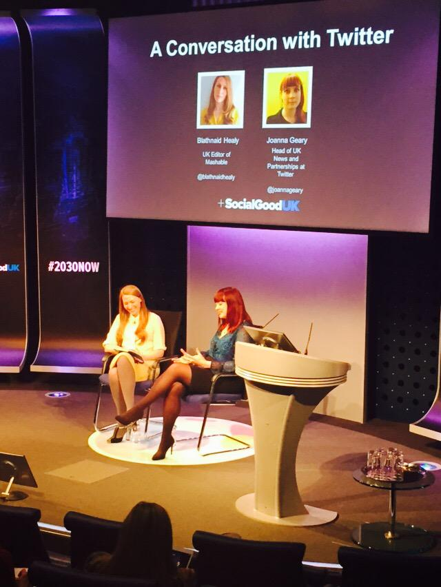 @JoannaUK says understand the audience when trying to secure the young vote #2030NOW http://t.co/2e7aoYwGn6