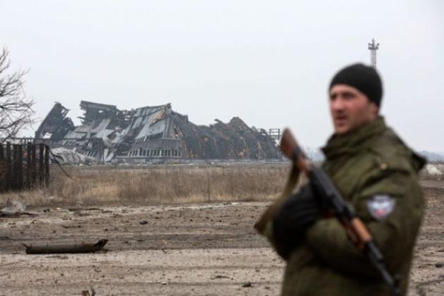 """В Широкино более часа идет бой. Террористы получают адекватный ответ, - """"Азов"""" - Цензор.НЕТ 9280"""