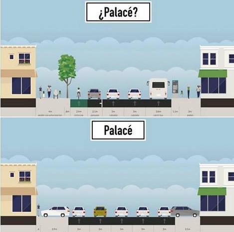 La ciudad es para todos. Cuál Palacé prefieres? Espacio Público para el Público  #PalacéParaTodos @LaCiudadVerde http://t.co/KgB4MnlGQK