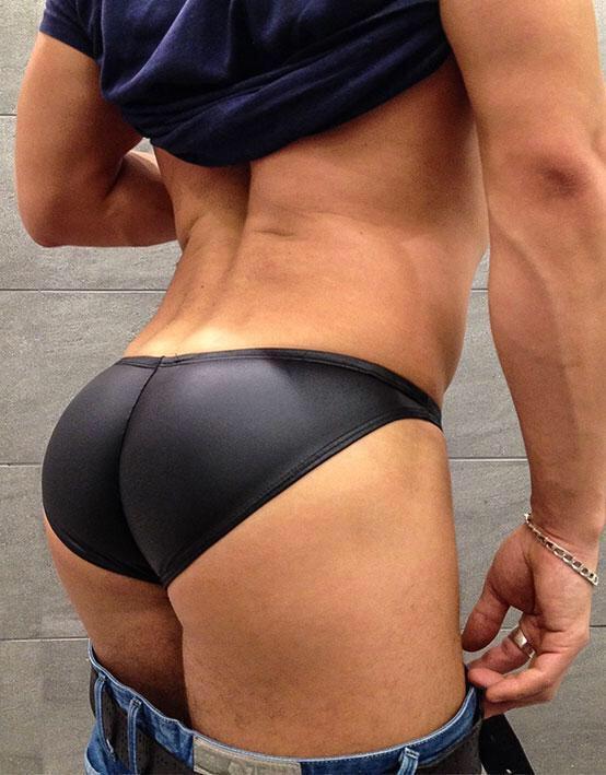 gay muscular tanga