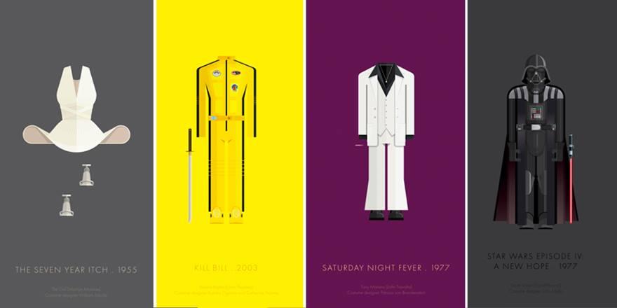 100 anni di costumi hollywoodiani interpretati dal graphic designer Frederico Birchal! http://t.co/lXMrjwbxFK