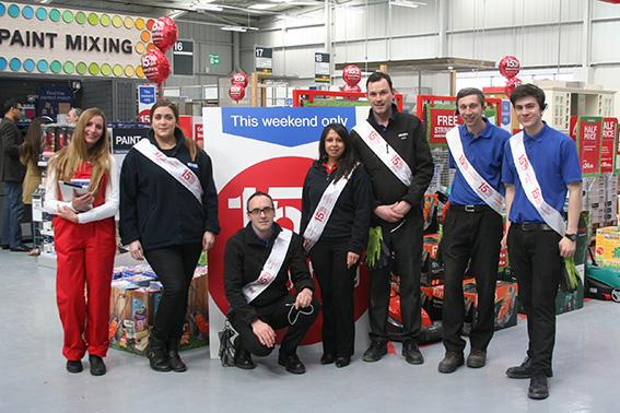 TBK and Wickes new look Chatham store this weekend...To celebrate the launch there is 15% off everything http://t.co/81dhCYBfuw