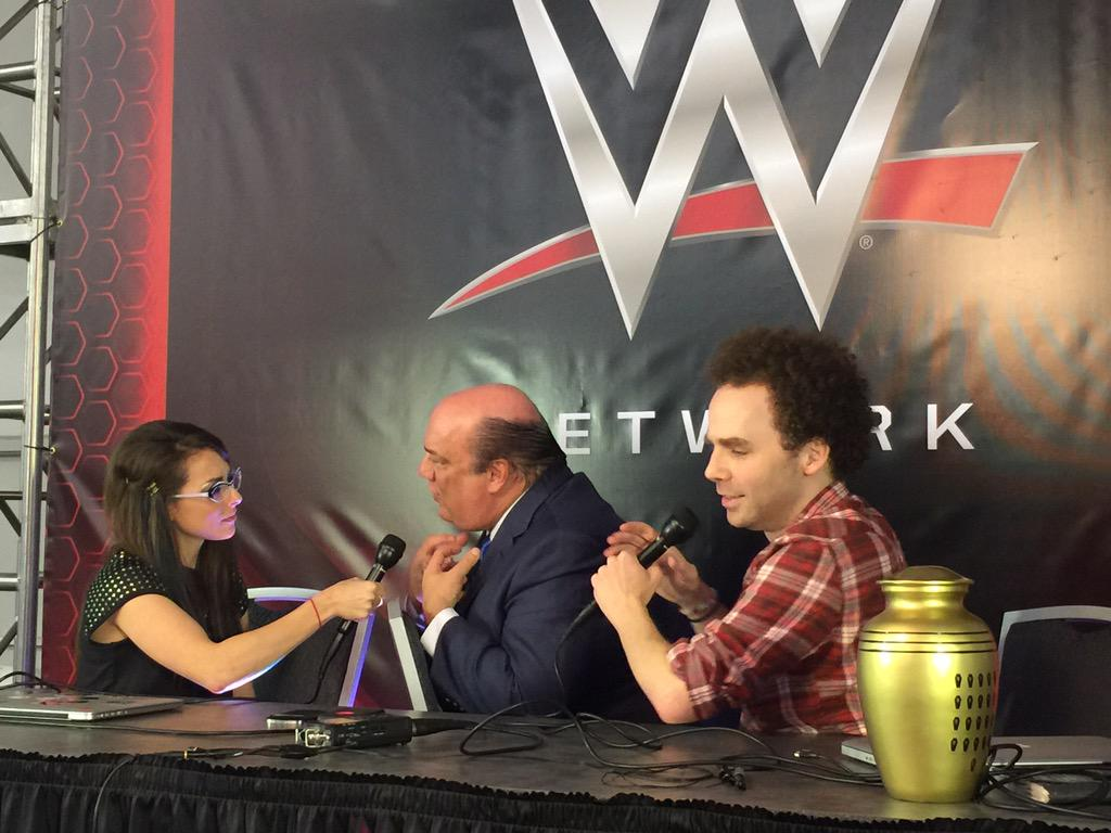 I left my co-host @notsam for the one behind 21-1 ... You won't want to miss this interview. @HeymanHustle http://t.co/Crst23LOzz