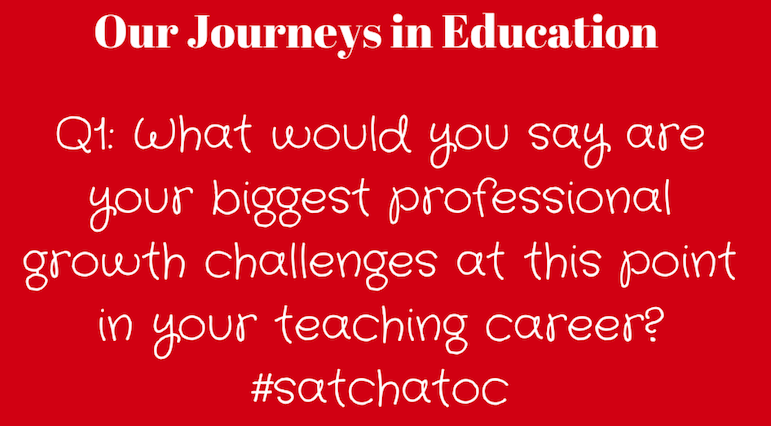 Let's get started with Q1. #satchatoc http://t.co/t1ApLBXmjF
