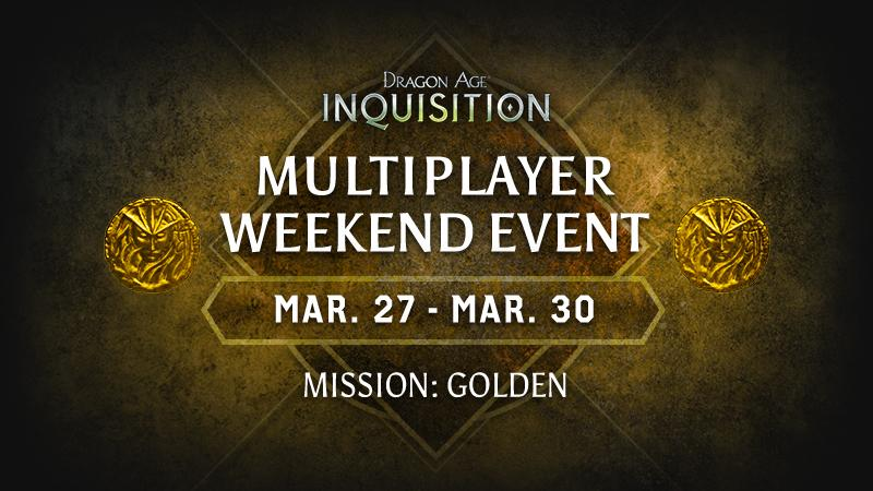 Multiplayer Weekend Event March 27-30, 2015