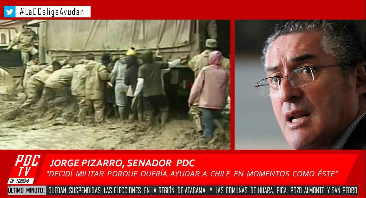 Decidí militar para ayudar a Chile en moments como éste @GustavoPaulsen @SergioEspejo  @soledad_lucero @carolinagoic http://t.co/8xGDXbdDzM