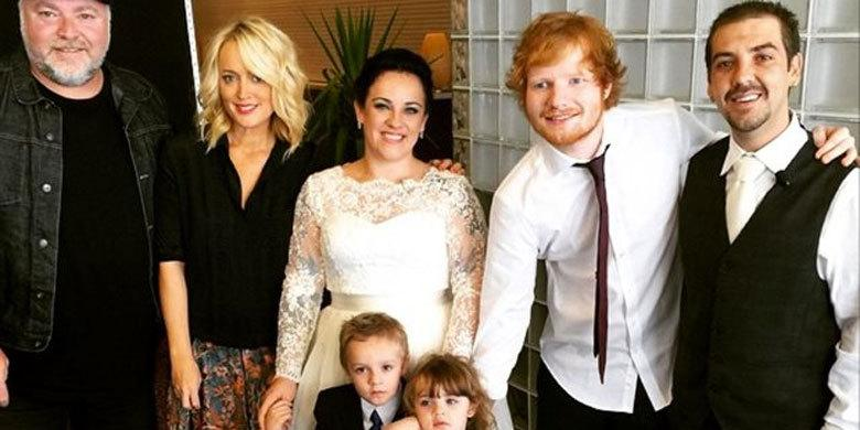 Ed Sheeran Surprises Couple By Singing At Their Wedding Ceremony http://t.co/L6QjXtCMH6 http://t.co/Ri7uA2hE61