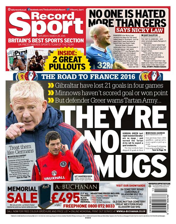 Daily Record Sport on Twitter:
