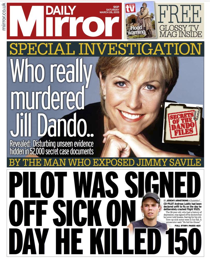 The mystery of who killed Jill Dando CBIpzONWkAAp7QH