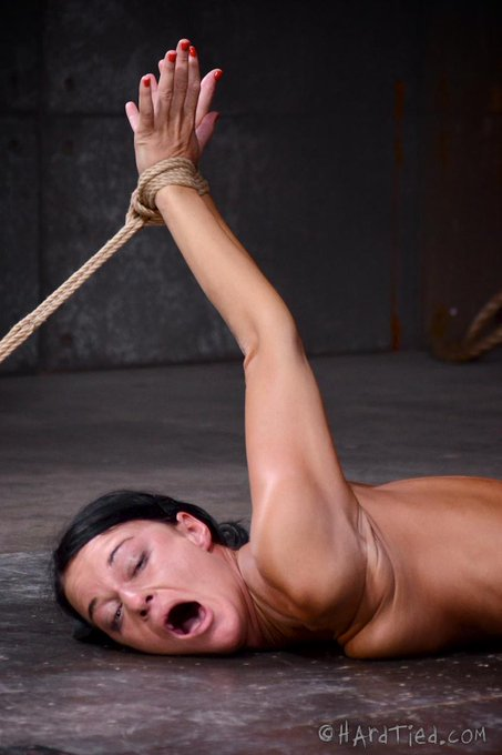 RT @HardTied: Super flexible @LondonCRiver suffers in tight #bondage for @HardTied watch http://t.co/4H9GkKyx3e