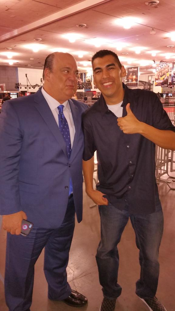 Danny Salas (@RuthlessRadio) on NOW with @HeymanHustle live for @WrestleMania weekend! #Q971 http://t.co/3LxV85T26J