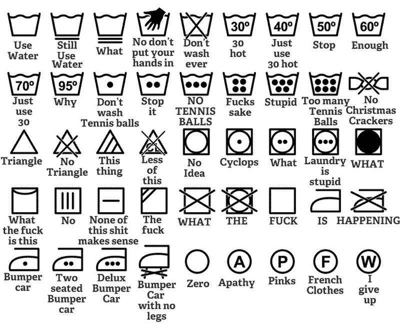 Confused by the washing guide icons on your clothes? Here's a helpful guide: http://t.co/NDrk49Ht1Z