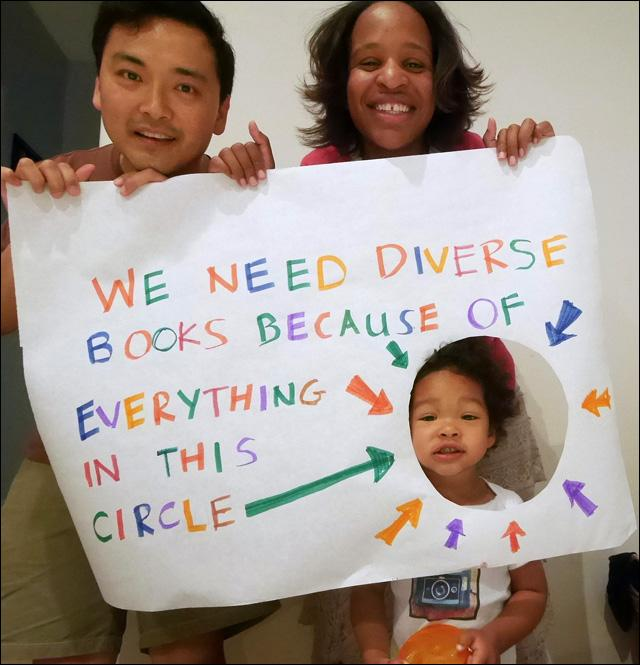 RT @sonsandbros: We love this blog by Ellen Oh, Founder of the #WeNeedDiverseBooks Campaign!  DETAILS: http://t.co/SbFbPwwWq2 http://t.co/u…