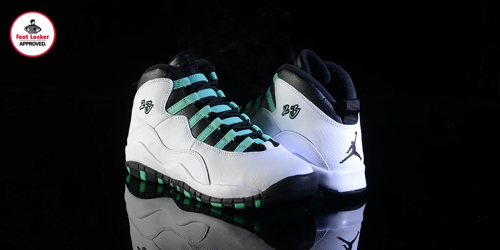 d07515a9c05725 the grade school air jordan 10 retro verde releases online tomorrow at 10am  est link gt