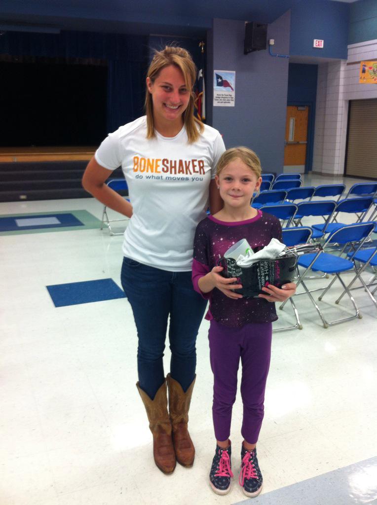 """Casey Elementary on Twitter: """"@BoneshakerTX Our lucky winners ..."""