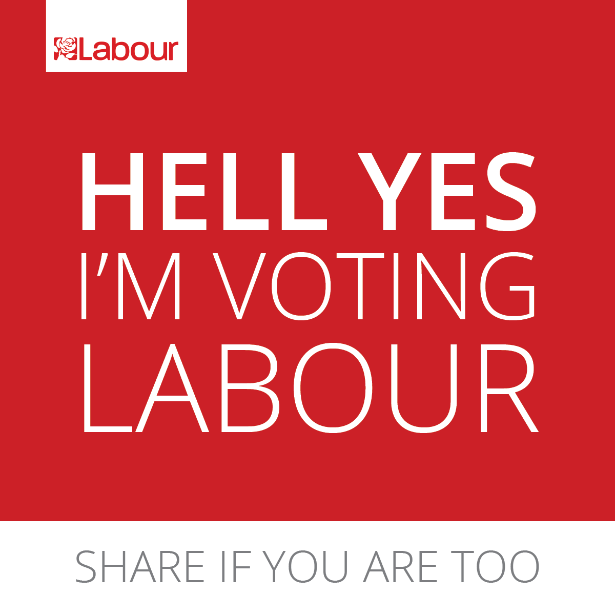 #HellYes #VoteLabour http://t.co/H0BmBkbehP