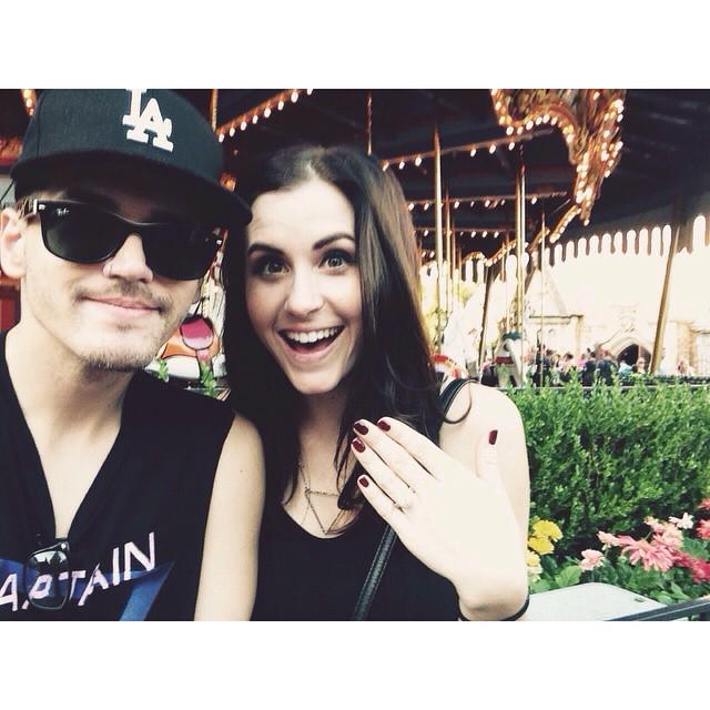 Dear @mikeyway, thank you for coming into my sister's life & loving her the way you do. It's a beautiful thing to w… http://t.co/Fa1HC02Pkl