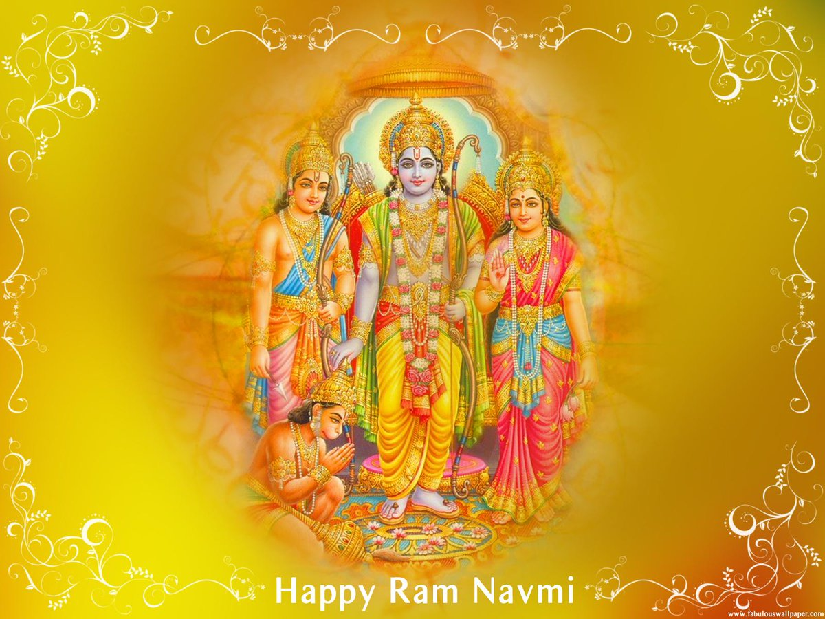 Happy Ram Navami.  May Lord Rama bless you with Happiness,Success and Peace on the auspicious occasion of #RamNavami. http://t.co/OM1PwfMUsa