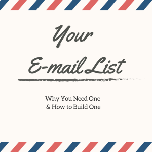 Why You Need to Build an E-mail List & How to Build One #Twitterstorians #Historians http://t.co/Nq6BBtR9Ed http://t.co/AUu8bZYxHX