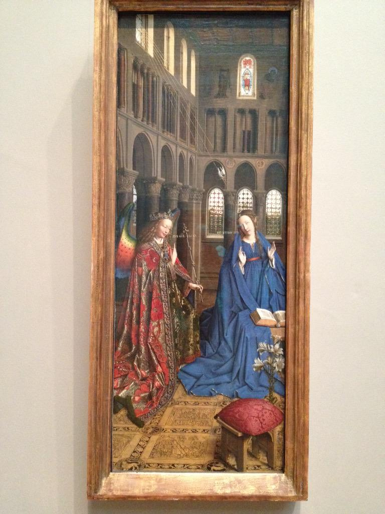 So many paintings of the #Annunciation (my all-time favorite scene from art history) at the @ngadc! #favMW http://t.co/PggorRxCgV