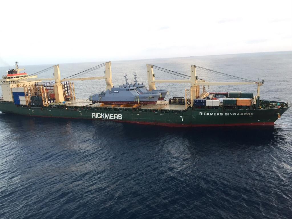 Colombia - Colombia se apresta a recibir la corbeta coreana PCC 755 Anyang CBMTosAWQAAMLSQ
