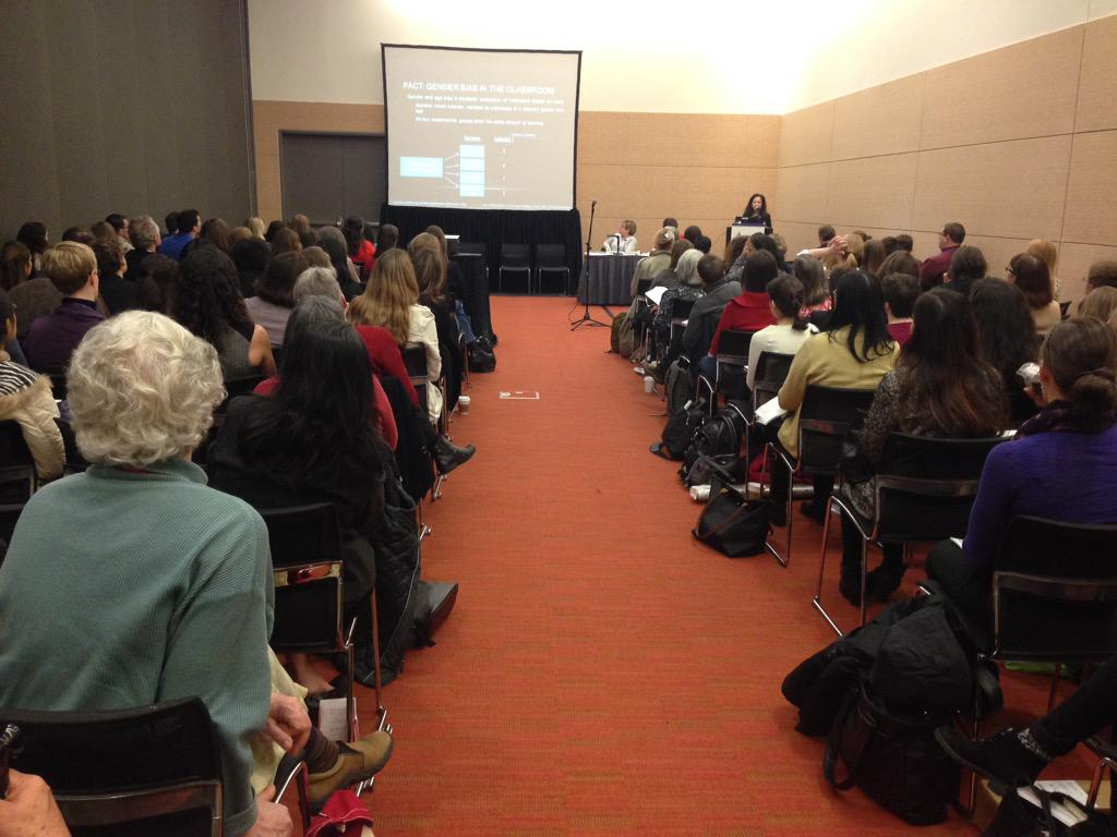 Supporting the success of women in science - STANDING ROOM ONLY! #anatomy15 @anatomymeeting  #expbio http://t.co/LHUQi95cZb