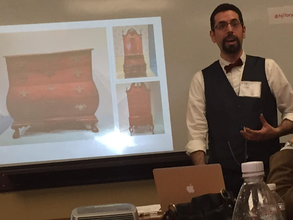See how snappy @hipster818's bow tie is! #HistoryCamp http://t.co/zV9x1tVIQL