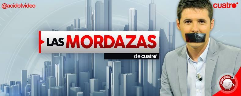 Mediaset estrena nuevo programa: 'Las mordazas de Cuatro' #BoicotAMediaset http://t.co/ti1BUuunB4