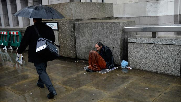 #Homelessness in #London jumped by 79% since 2010 – report http://t.co/eHzYEjg5ZU http://t.co/t2NZgy8Fns via @RT_com