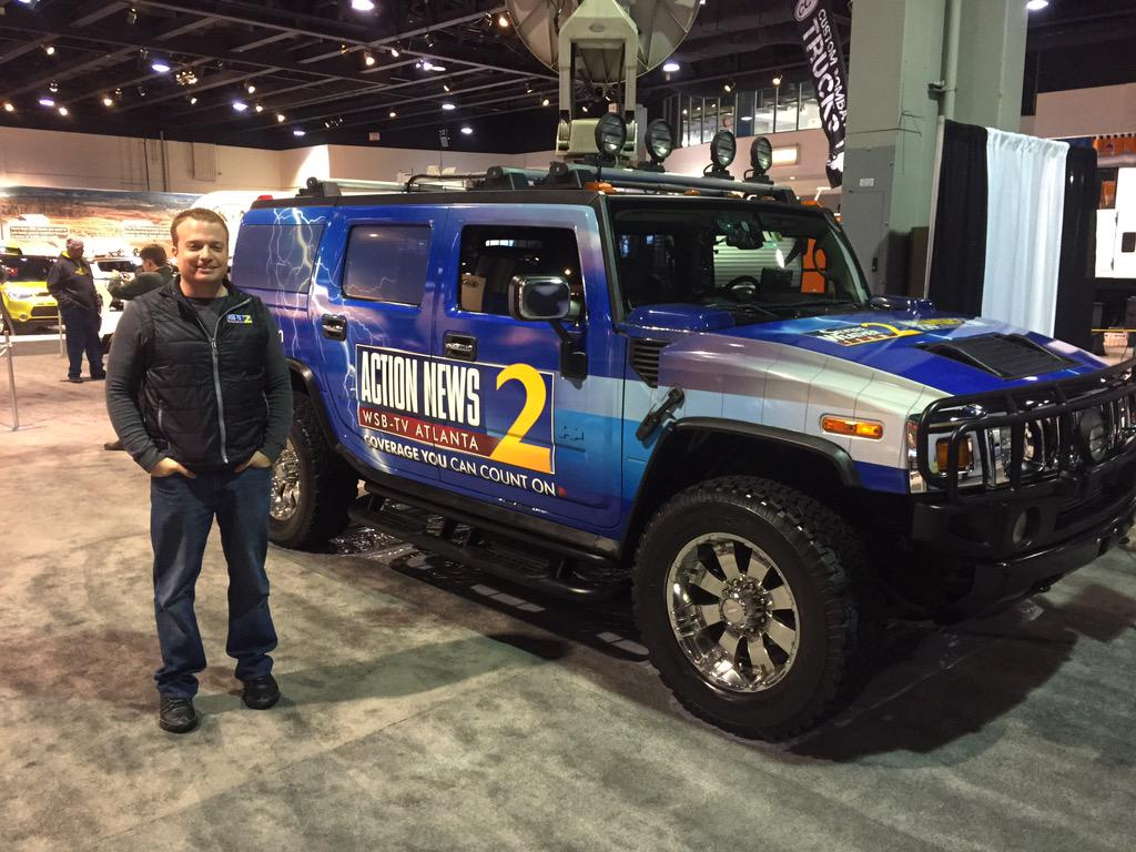 Atlanta International Auto : Come by the #WSBTV booth and