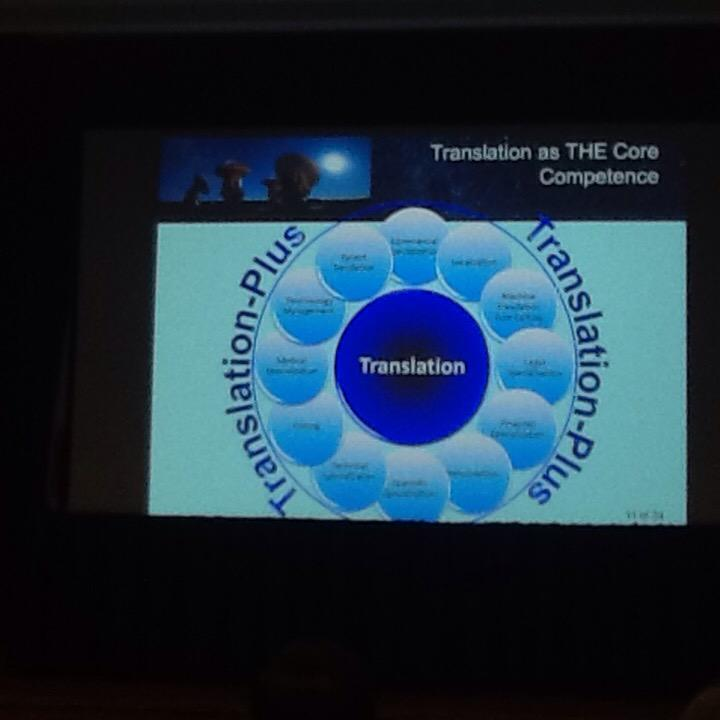 Geoffrey Koby: In other words, #translation plus looks something like this. #MIISforum #xl8 http://t.co/y2TPoboScS