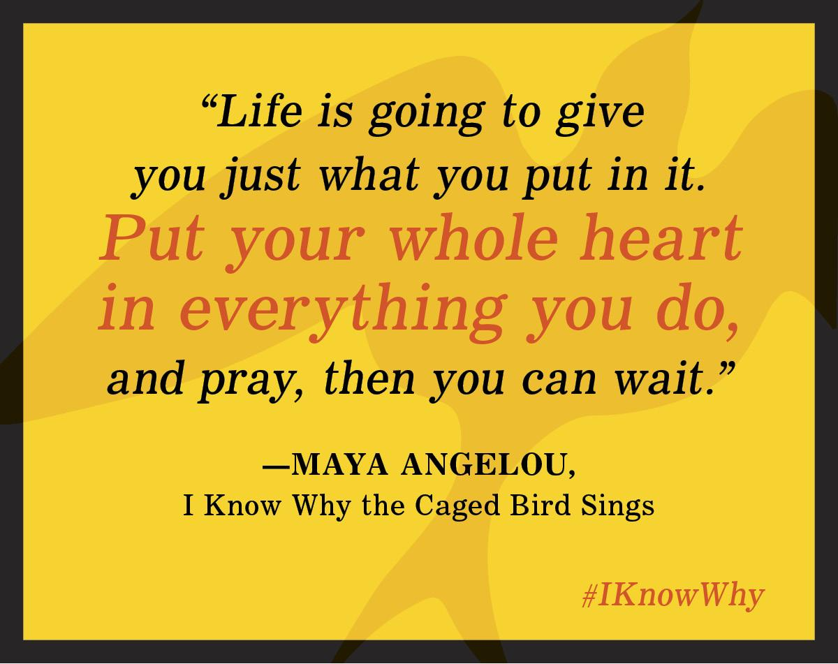 a summary of the story of i know why the caged bird sings by maya angelou The paperback of the i know why the caged bird sings by maya  overview   maya angelou's debut memoir is a modern american classic.