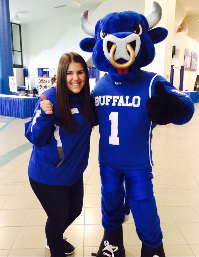 Very proud to be a bull 💙🐃 #UBuffalo #buffalove http://t.co/gu4rBzA3LA