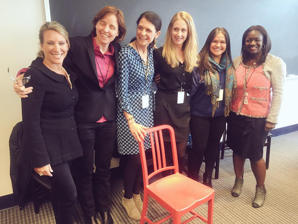 An inspiring group of #womenintech @ShelleyZalis @courtdiesel @smithmegan @RichelleParham @chinaunica9 #OWNIT2015 http://t.co/7BxIjk1u9x