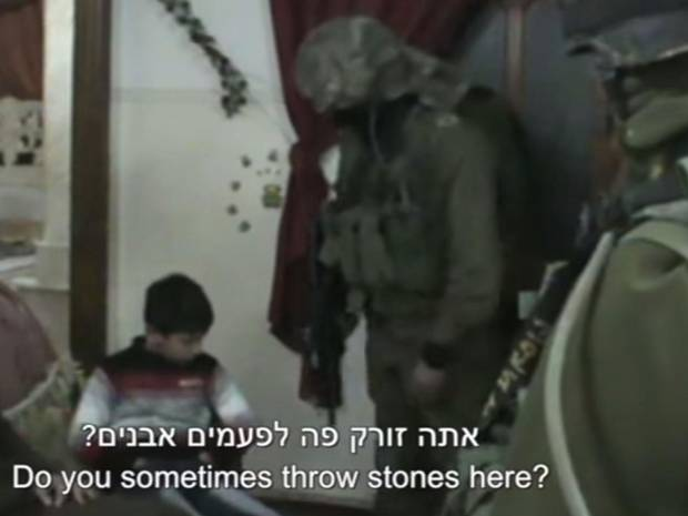 RT @Independent: Israeli soldiers filmed waking Palestinian children in middle of the night for questioning. http://t.co/BxT0txxQft http://…