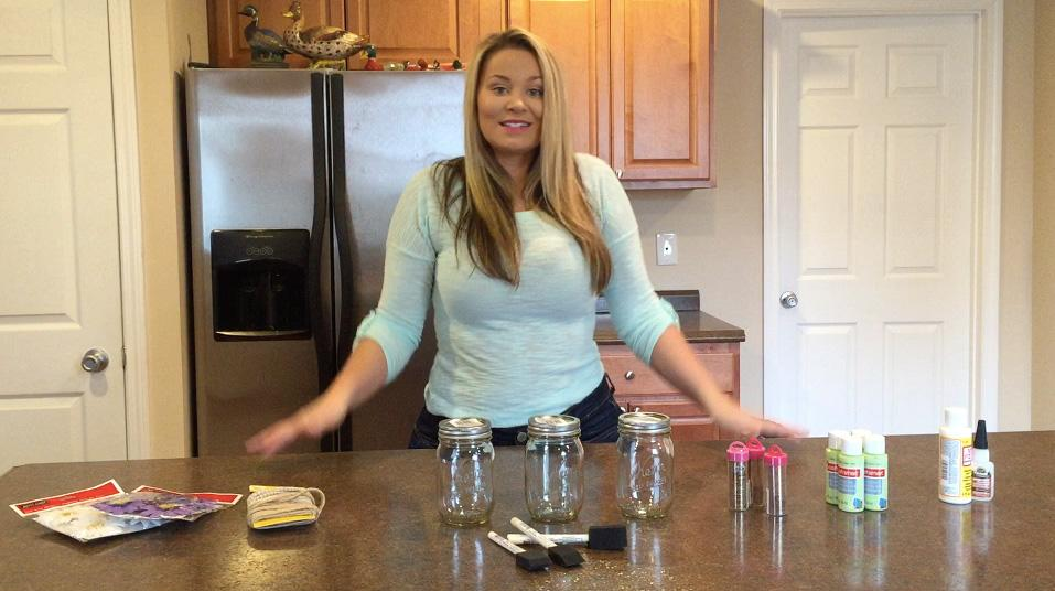allgoodthings tv on twitter new olivia jensen video coming soon shabby chic mason jars. Black Bedroom Furniture Sets. Home Design Ideas