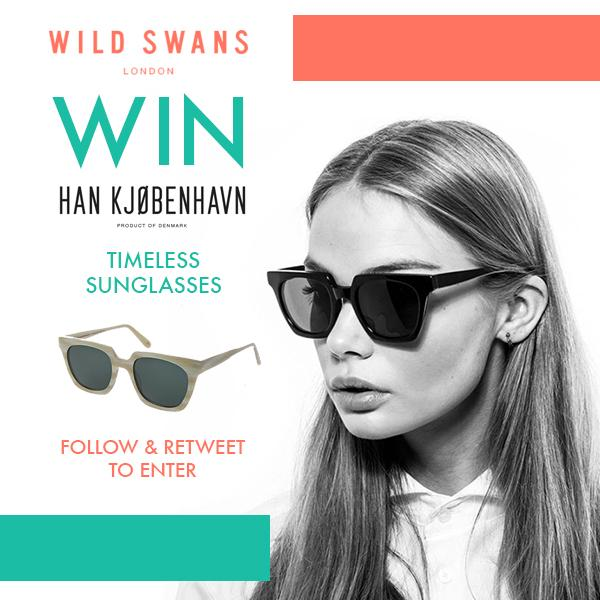 #WIN #HANKJOBENHAVN #Sunglasses @Wild_Swans! #RT & #FOLLOW #COMPETITION #GIVEAWAY #GIVEAWAY http://t.co/L1oFHDOK9T http://t.co/2LT1PkGVuN