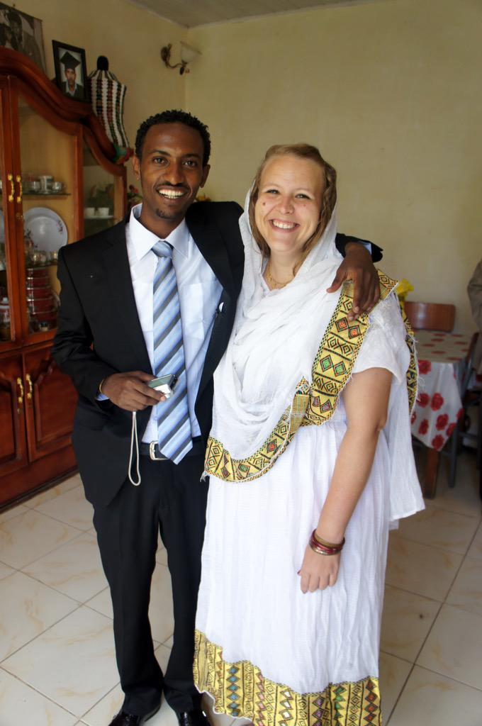 Ethiopian Women White Men