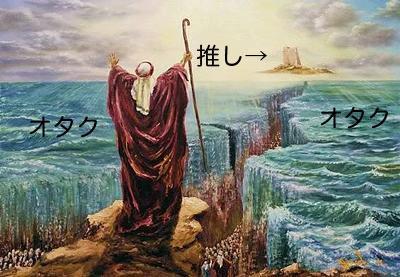 強いオタクの人のイメージ図。 http://t.co/oYZAY27Q4l