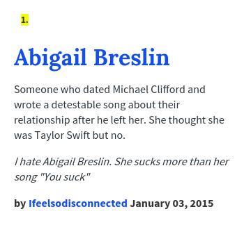 Abigail urban dictionary