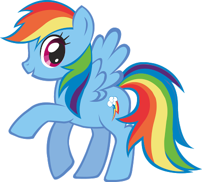 I thought Rainbow Dash was a non-gender-conforming boy. But I was wrong, she's a girl. #MyLittlePony #mlp http://t.co/alxAMYXICa