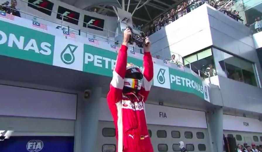 """Formula 1, Vettel vince il GP di Malesia: """"Ferrari is back"""""""