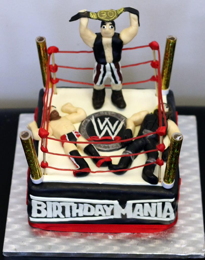Eva the Cake Diva on Twitter Happy birthday to wrestling fan Sam