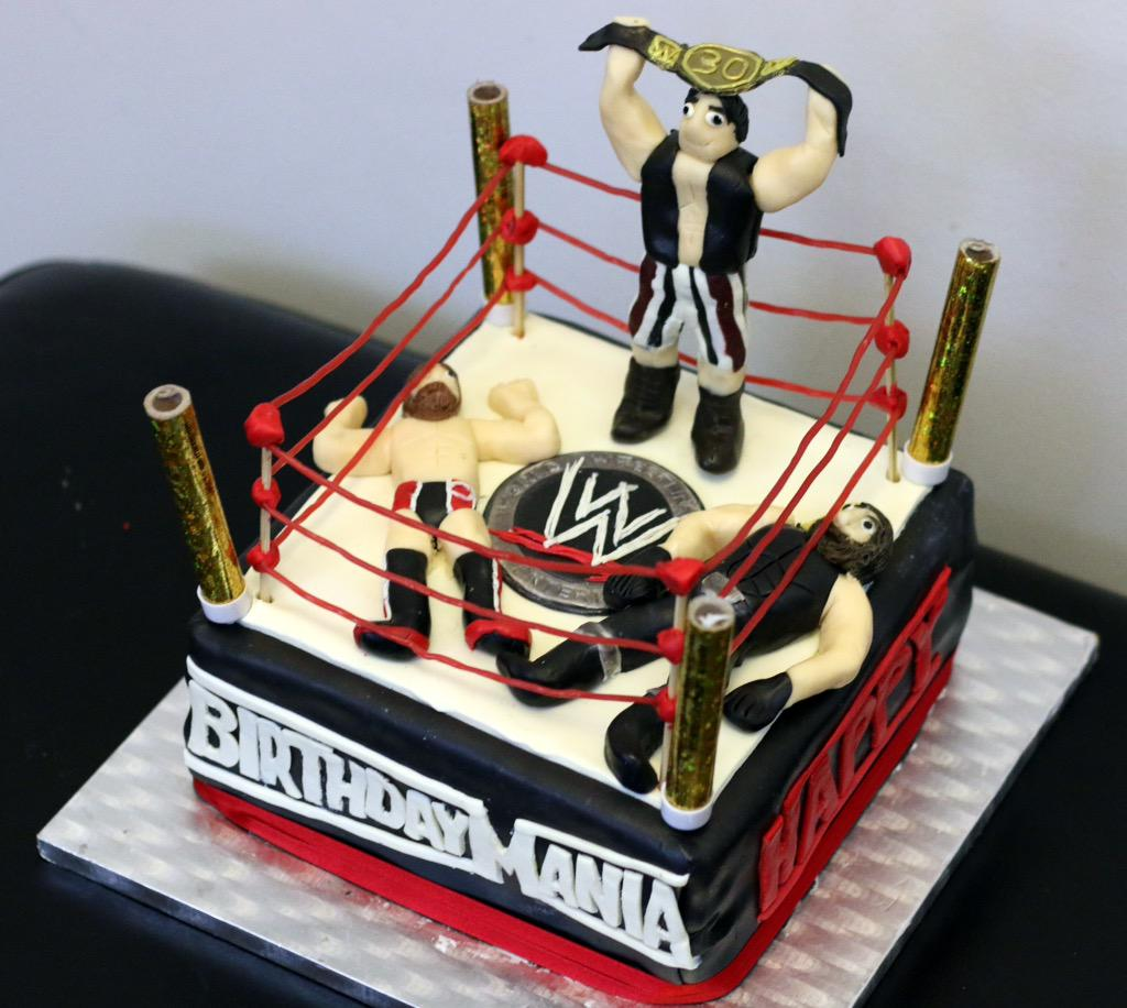 Eva the Cake Diva on Twitter Happy birthday to wrestling fan Sam