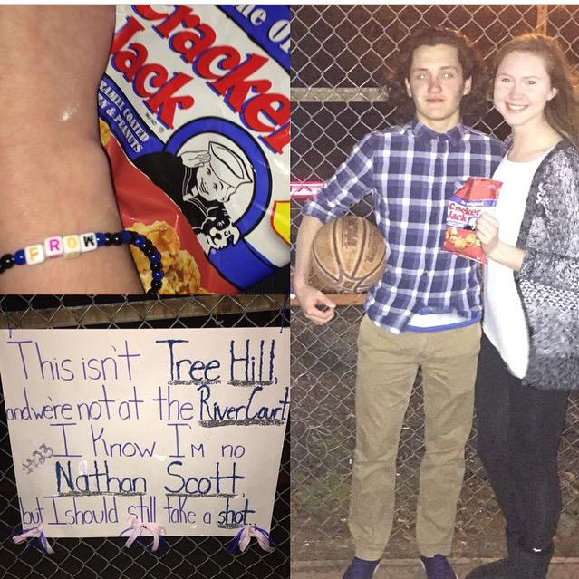 Moose On Twitter Creative One Tree Hill Prom Proposal By Cute