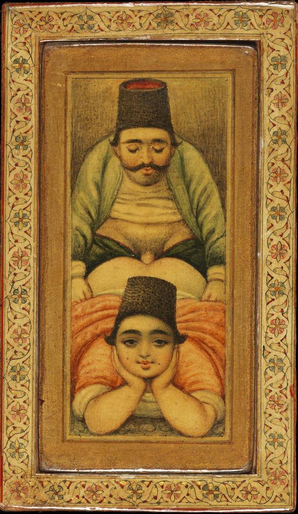 Erotic islamic art