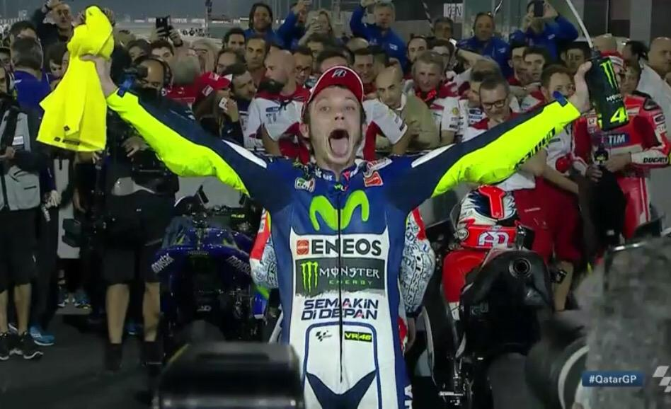 #MotoGP - Valentino is totally buzzing!!! http://t.co/LpIEbJfrqR