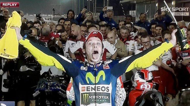 MotoGP: Rossi Dovizioso Iannone, il Qatar e' tricolore