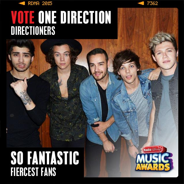 RT to vote for #Directioners for #SoFantastic! @radiodisney #RDMA @onedirection